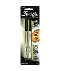 Black Sharpie Fine Point Writing Pens 2/Pkg