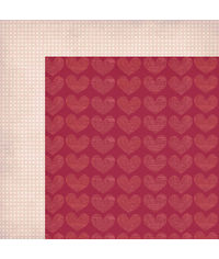 "Love Note S.W.A.K. - 25 Pcs of 12"" x 12"" Paper"