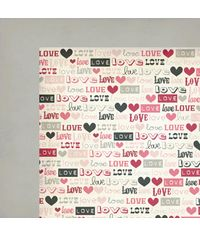 "Love Note Love Struck - 25 Pcs of 12"" x 12"" Paper"