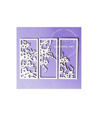 Twig of Cherry Blossoms - Rectangle Decors - Frames