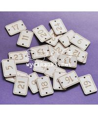 Chipboard Signboards to Advent Calendar