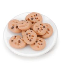 Chocolate Chip Cookie Plate - Miniature