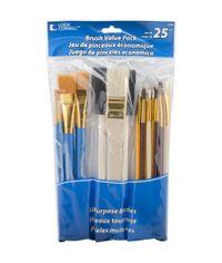 Brush Set Value Pack 25/Pkg