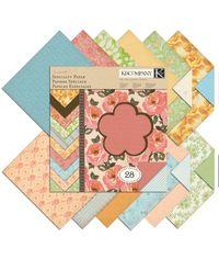 Handmade Garnish 12 x 12 Paper Pad