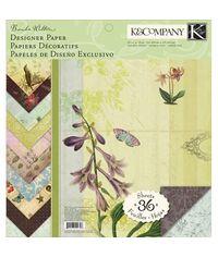 Flora and Fauna Designer 12 x 12 Paper Pad