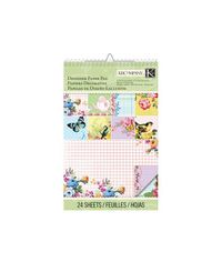 Bloomscape Collection - Ledger Designer Paper Pad