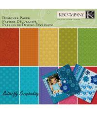 Essentials Designer Scrapbooking 12X12 Paper Pad - 150 sheets