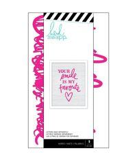 Pink Love 9/Pkg - Letterboard Words Set