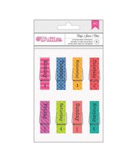 Days Of The Week - Whittles Clothespins 8/Pkg