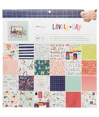 """Dear Lizzy Lovely Day - 12""""X12"""" Paper Pad"""