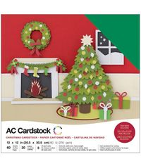 "Christmas - 12""X12"" Cardstock Pack"