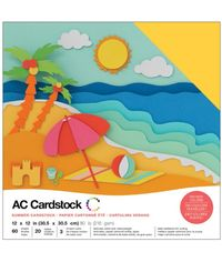 "Summer - 12""X12"" Cardstock Pack"
