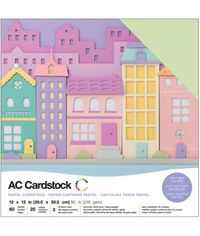 "Pastels - 12""X12"" Cardstock Pack"