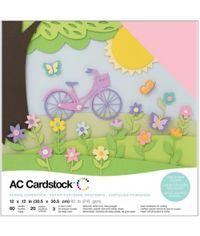 "Spring - 12""X12"" Cardstock Pack"