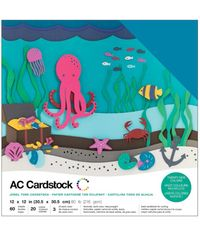 """Jewel - 12""""X12"""" Cardstock Pack"""
