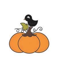 Pumpkin - Mini Stamp