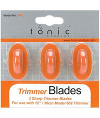 Paper Trimmer Replacement Blades 3/Pkg