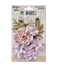 """Shimmer & Shine Flowers 1.5-2"""" 11/Pkg"""