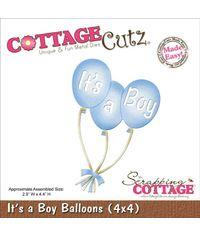 It's A Boy Balloons - Die