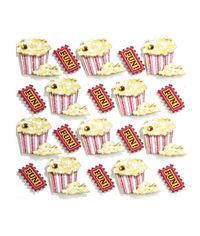 Popcorn Repeats 3D Stickers