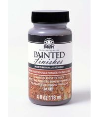 Dark Rust 4 oz - Folkart Painted Finishes