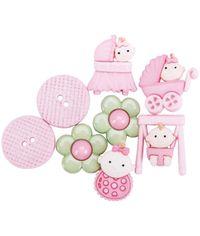 Baby Fun Girls - Dress It Up Button Embellishments