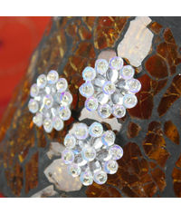 Monarch Collection - Bling - Diamond Flower Center Embellishments