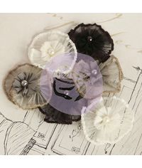 Vibrato - Fabric Flower Embellishments
