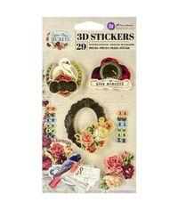 Cigar Box Secret 3D Stickers