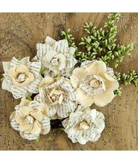 Lady Liberty Paper Flowers