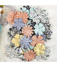 """Paper Unveil Flowers 1.25"""" To 2"""", 36/Pkg"""