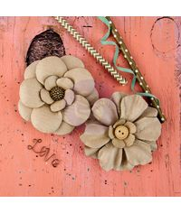 Purisima - Paper Flowers 2/Pkg