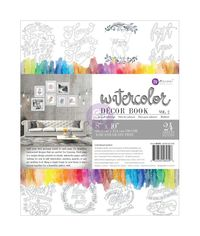 "Decor Vol. 2 Watercolor Coloring Book 8""X10"""