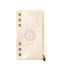 White Glitter - Planner Pencil Pouch