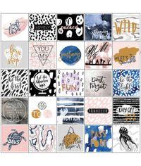 "Travel W/Foil - Planner Stickers 6""X6"" 3/Pkg"