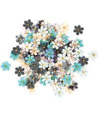 Blue Crush - Traveler's Journal Flowers
