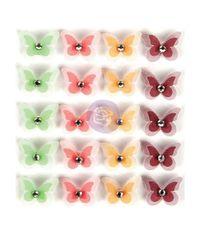 Enchanted Forest - Dimensional Butterflies W/Gems