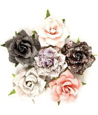 Persian Marblelite - Rose Quartz Flowers