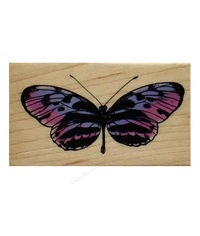 Helio Butterfly - Rubber Stamp