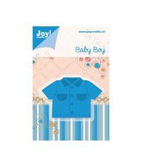 "Baby Boy - Shirt, 1.625""X2.5"""