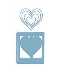 Card Model Hearts Die