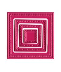 Small Nested Squares (4) Die