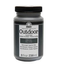 Zinc - FolkArt Outdoor Paint 8oz