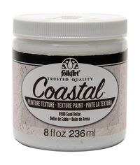 Sand Dollar - Coastal Texture Paint 8 oz