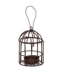 Metal Birdcage W/Tealight Holder - Miniature