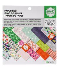 "Flower Girl 6"" x 6""  Paper Pad"