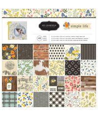 "Jen Hadfield Simple Life - 12""X12"" Paper Pad"