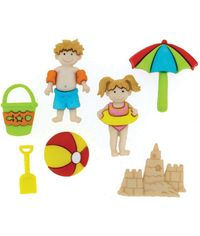 Day At The Beach - Dress It Up Button Embellishments