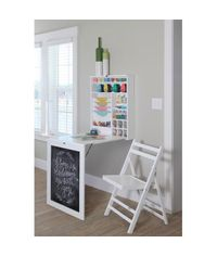 All Purpose Fold Down Table - White