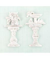 Garden Fountain 2/Pkg Shabby Chic Treasures